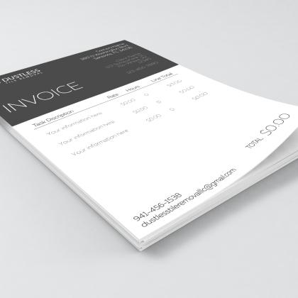 Invoice - Mockup